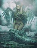 Anjo da guarda Imagens de Stock Royalty Free