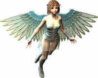 Anjo da luz Imagem de Stock