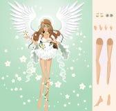 Anjo da mola Fotos de Stock