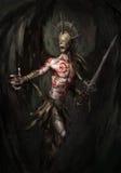 Anjo da morte Imagens de Stock Royalty Free