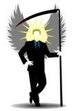 Anjo da morte ilustração do vetor