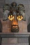 Anjo de bronze Fotos de Stock Royalty Free