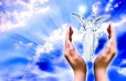 Anjo de guardião imagem de stock royalty free