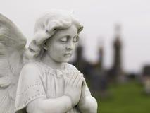 Anjo de pedra Fotos de Stock Royalty Free