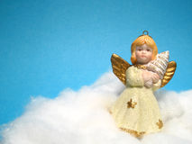 Anjo, decoração do Natal imagem de stock royalty free