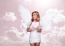 Anjo do amor Foto de Stock