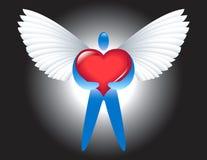 Anjo do amor ilustração do vetor