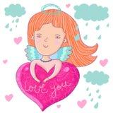 Anjo do amor Fotografia de Stock Royalty Free