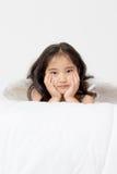 Anjo do cupido da tristeza Fotografia de Stock