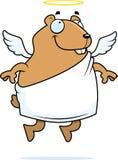 Anjo do hamster ilustração do vetor