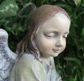 Anjo do jardim Foto de Stock Royalty Free
