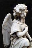 Anjo do mármore Imagens de Stock