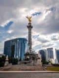 Anjo do monumento da independência - Cidade do México, México fotos de stock