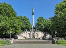 Anjo do monumento da paz em Munich, Alemanha Fotografia de Stock