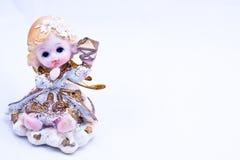 Anjo do Natal Fotos de Stock