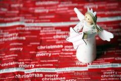 Anjo do Natal imagens de stock