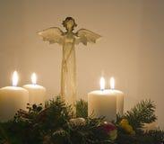 Anjo do Natal Fotos de Stock Royalty Free