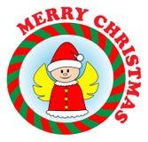 Anjo do Natal Imagens de Stock Royalty Free