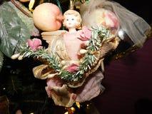 Anjo do Natal Fotografia de Stock Royalty Free