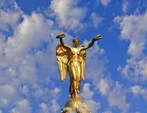Anjo dourado Foto de Stock