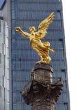 Anjo dourado da independência Fotos de Stock Royalty Free