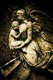 Anjo e bebê Imagens de Stock