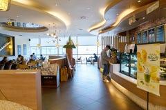 Anjo-em-nós café Fotografia de Stock Royalty Free