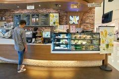 Anjo-em-nós café Imagens de Stock Royalty Free