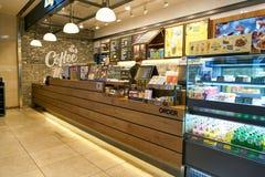 Anjo-em-nós café Foto de Stock Royalty Free
