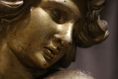 Anjo em Roma imagem de stock royalty free