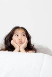 Anjo engraçado pequeno do cupido Imagem de Stock Royalty Free