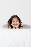 Anjo engraçado pequeno do cupido Imagens de Stock