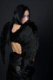 Anjo escuro Fotografia de Stock Royalty Free