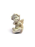 Anjo - figurine imagem de stock