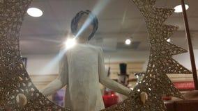 anjo iluminado no armazém Foto de Stock