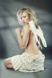 Anjo inocente Imagens de Stock Royalty Free