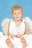 Anjo masculino Fotos de Stock Royalty Free