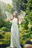 Anjo misterioso Fotografia de Stock