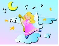 Anjo no céu Foto de Stock