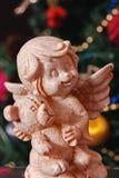 Anjo no Natal Imagem de Stock