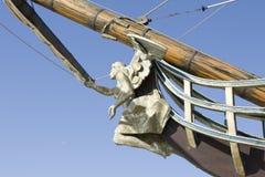 Anjo no navio Fotos de Stock Royalty Free