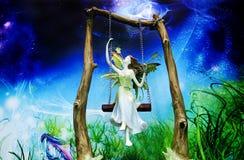 Anjo no paraíso Fotografia de Stock