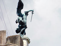 Anjo no protetor de Roma Fotografia de Stock Royalty Free