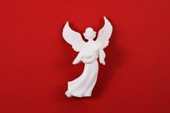Anjo no vermelho Fotos de Stock