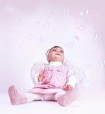 Anjo pequeno doce Imagem de Stock