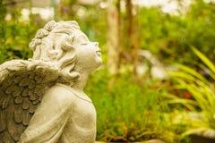 Anjo pequeno feliz Imagem de Stock