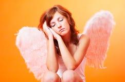 Anjo Praying imagem de stock royalty free