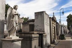 Anjo que guarda as sepulturas dos mortos Imagens de Stock