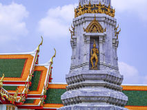 Anjo tailandês da escultura Imagem de Stock Royalty Free