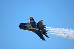 Anjos azuis 1 Foto de Stock Royalty Free